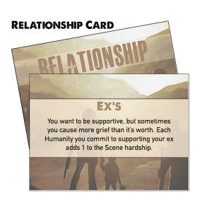 Anatomy of a Relationship Card